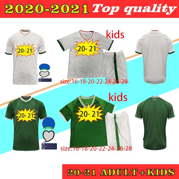 Tailandia Nuevo 20 21 Irlanda Inicio Jerseys de fútbol 2020 2021 República de Irlanda Camisas de fútbol nacional Maillots de pie