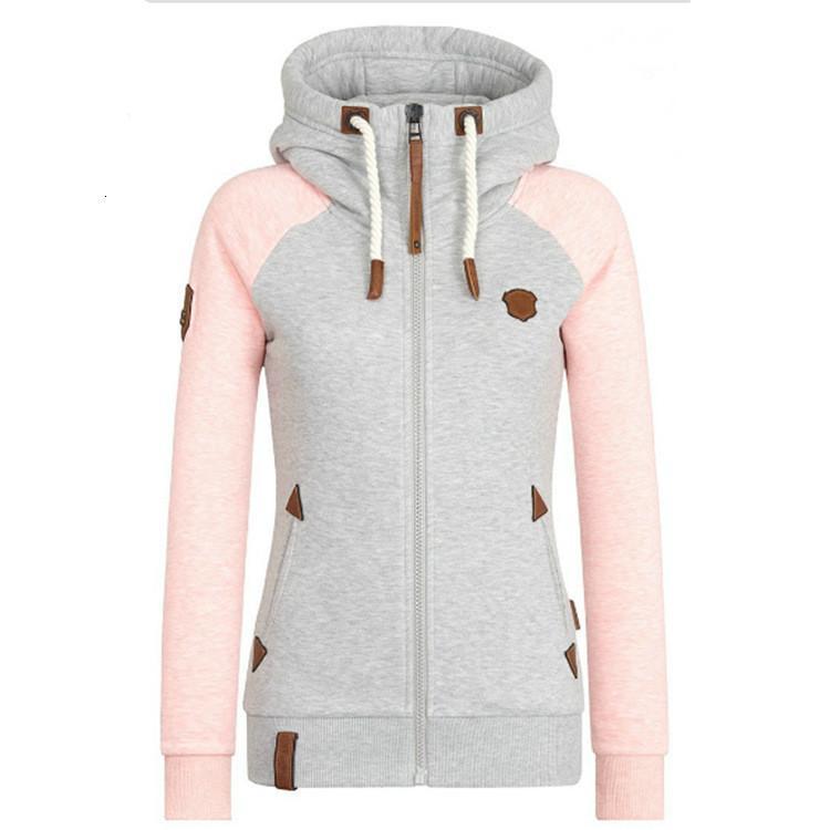 Édition originale de qualité des femmes de Hoode à capuche de couleur de marque en cuir personnalisé en automne 2020