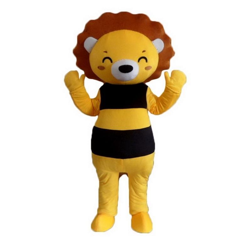 Bee медведь талисман костюм мультипликационный персонаж Размер взрослых longteng (тм) 05 высокое качество