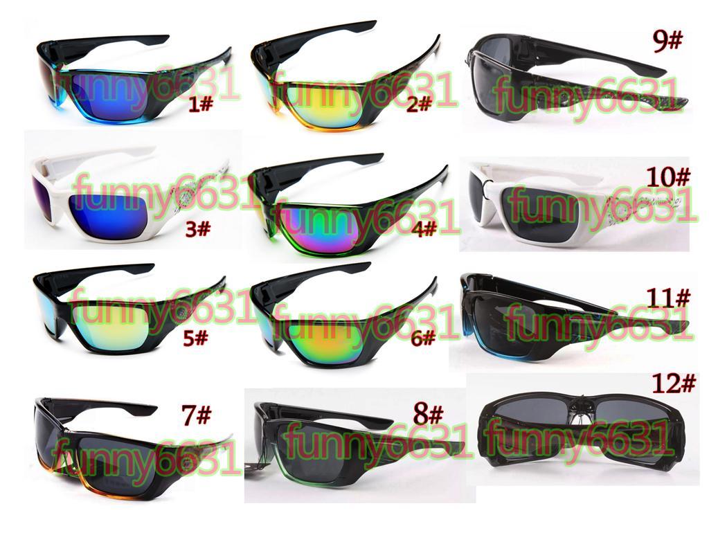 10pcs Hot Estate New Fashion Man Uomo Guidare Occhiali da sole Occhiali da sole Spettacoli Donne GlassesCycycling Sport Occhiali da sole all'aperto Spedizione gratuita