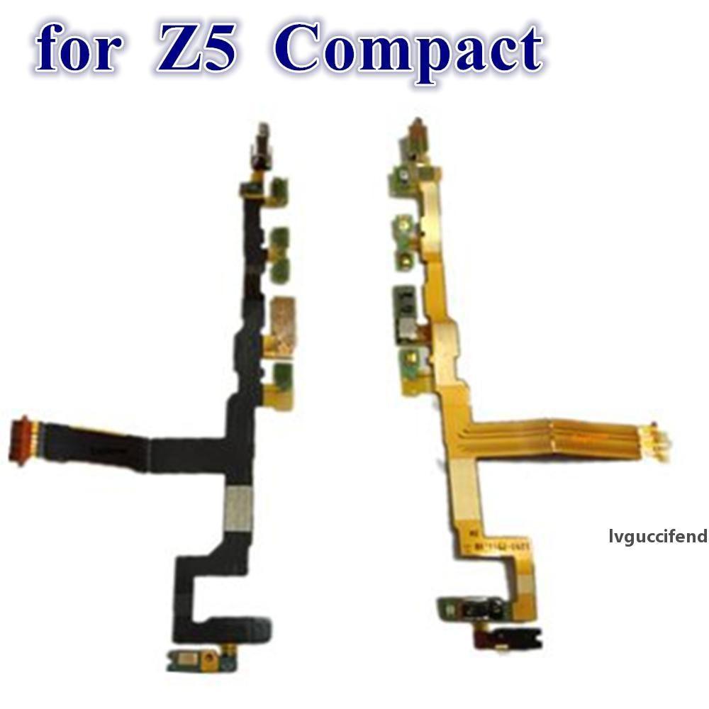 Test transmis pour Sony Xperia Z5 Compact VS Z5 Mini Volume de puissance ON Bouton Désactivé Bouton MIC MIC MIC MIC Câble Flex Pièces de rechange OEM