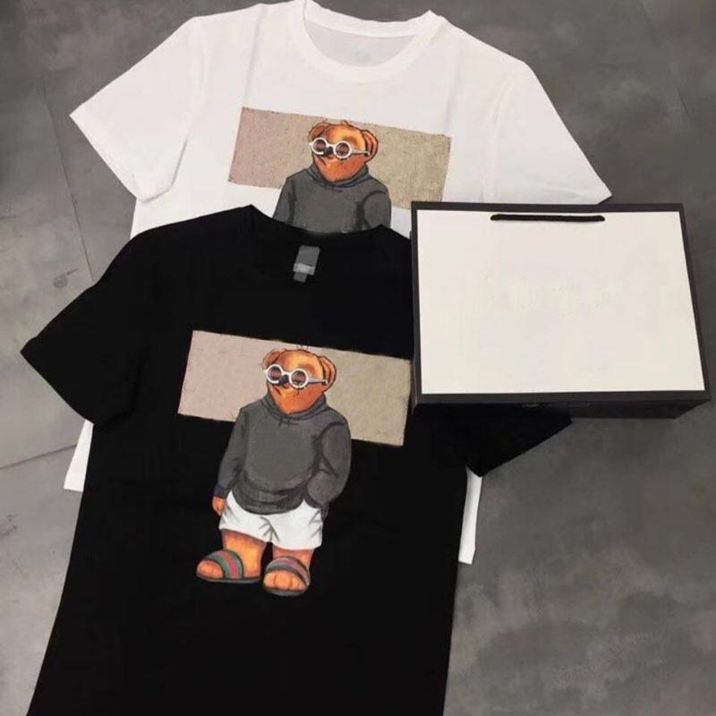 2021 21ss Yeni Erkek Kadın Tasarımcılar T Shirt Adam Moda Erkekler S Giysileri Rahat T-Shirt Sokak Şort Kol Tees