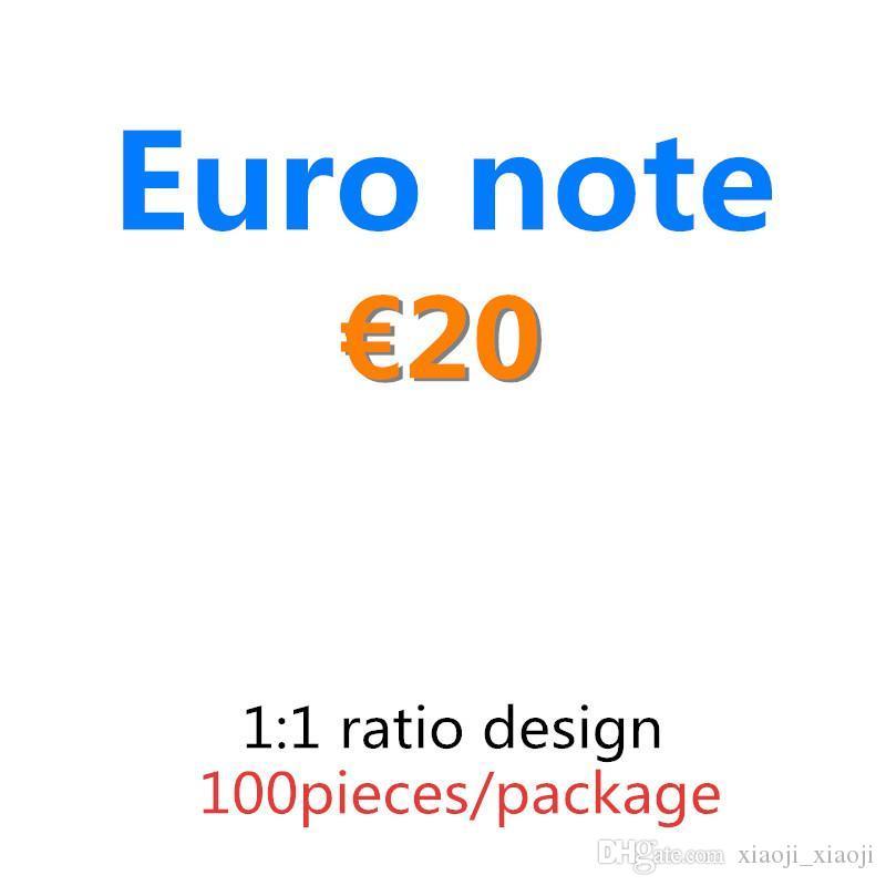 Toys Stage PROP BAR 20 евро фунт реквизит детский фильм для взрослых игр реквизит специальные реалистичные игры доллар деньги большинство денег 04 Merrk