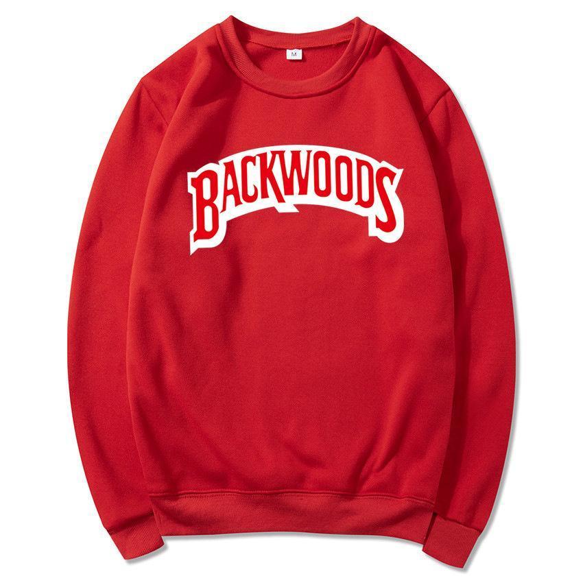 111 Backwoods Hoodie Bireysel Kaya erkek T-Shirt Kazak Mektup Baskı Moda Rahat Kazak Kazak Uzun Kollu Erkek Hoodies