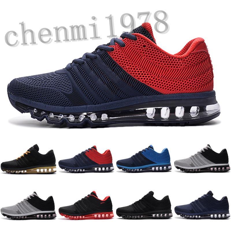 Max 2017 2020 Дышащая спортивная обувь 2017 спортивная спортивная обувь кроссовки лучшее качество черные белые красные мужчины женщины обувь KPU 36-45 C78