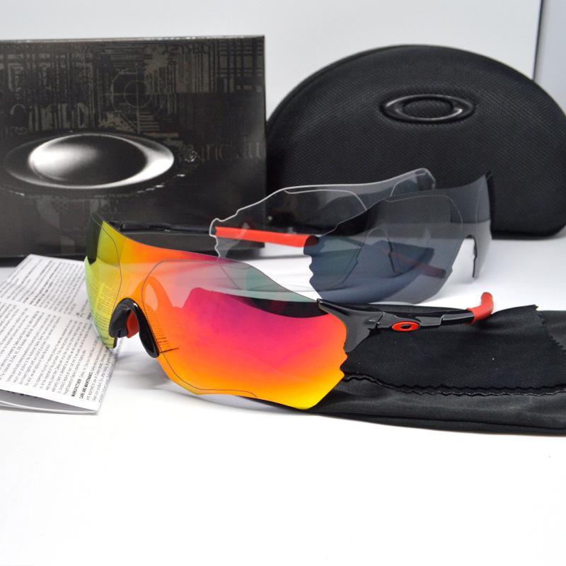 O Ji New Evzero EV нулевой O9313 Велосипедные очки для солнцезащитных очков RIMOLLE 3PCS