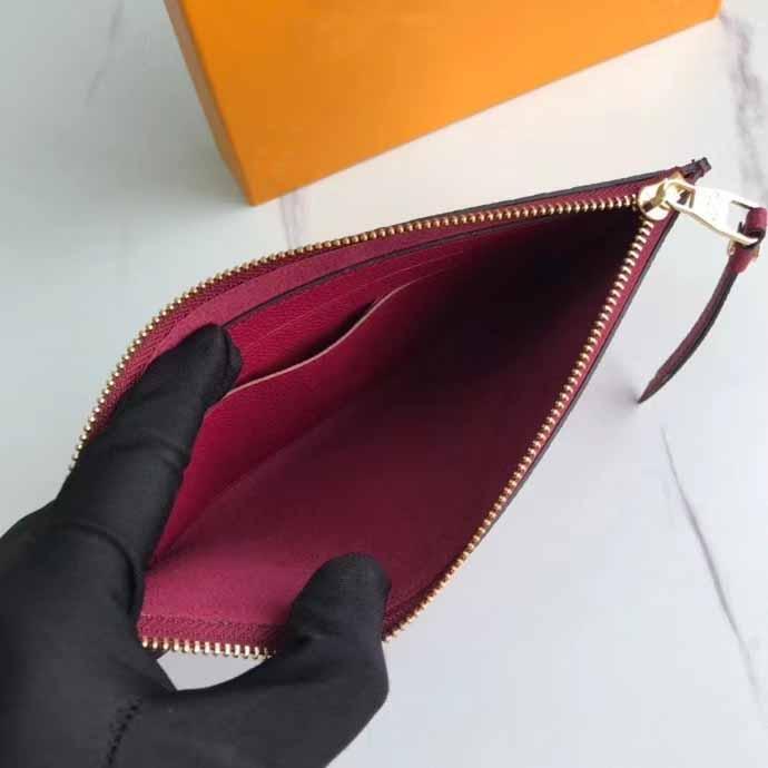 2020 all'ingrosso borsa di alta qualità borse a borse per borse a frizione moda vera borsa in pelle portafoglio donna borsa con scatola originale sacchetto antipolvere 68712 20x10cm