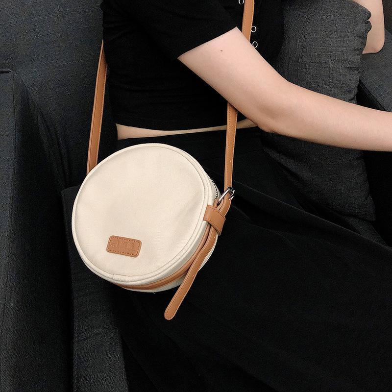 Мессенджер сумка свежая монетка новая маленькая сумка мессенджер женский телефон мобильный кошелек и маленький круглый универсальный холст Matwi