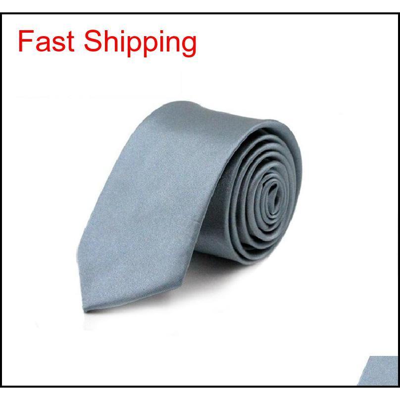 Schlanke schmale schwarze Krawatte für Männer 5 cm lässig arrow dünn rot krawatte mode mann zubehör einfachheit für qylgkz nana_shop