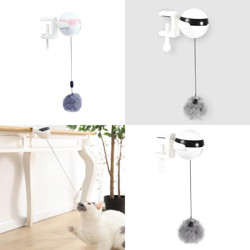 Teaser Cat Toy Interaction Benefício Inteligência Eletrônica Bola de Levantamento Gatos Cães Brinquedos Pet Fontes Novo Padrão 25MC J2