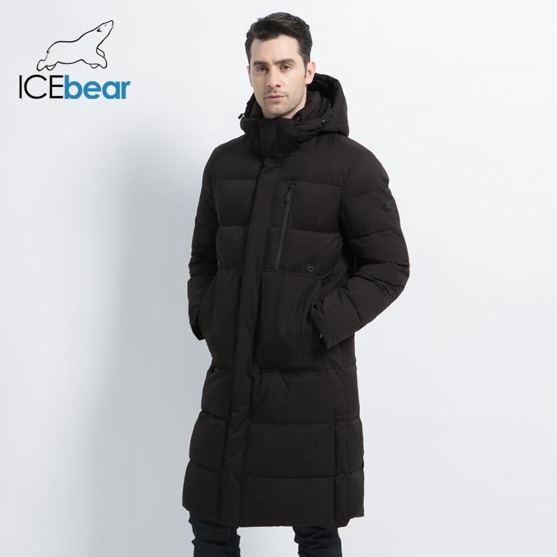 Новая мужская зимняя куртка длинные мужские пальто с молнией с капюшоном мужские пальто высокого качества человека зимний бренд одежда MWD19913D 201023