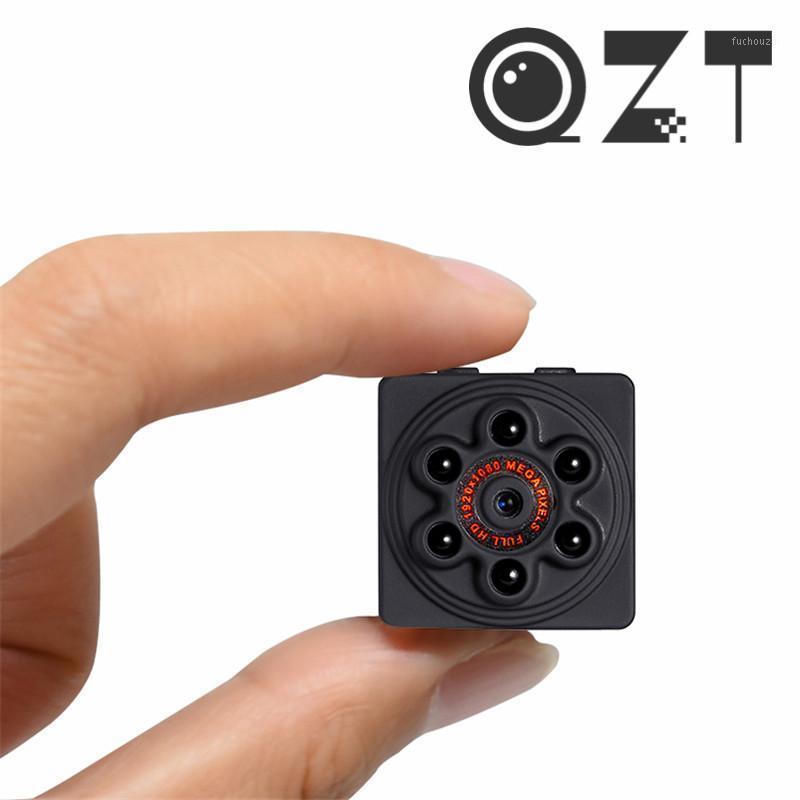 QZT Mini DV Cámara Pequeña Cámara Micro Cuerpo WiFi 1080P Visión nocturna Mini IP Secret Smart Home Monitor Cuerpo IP CAM DVR1