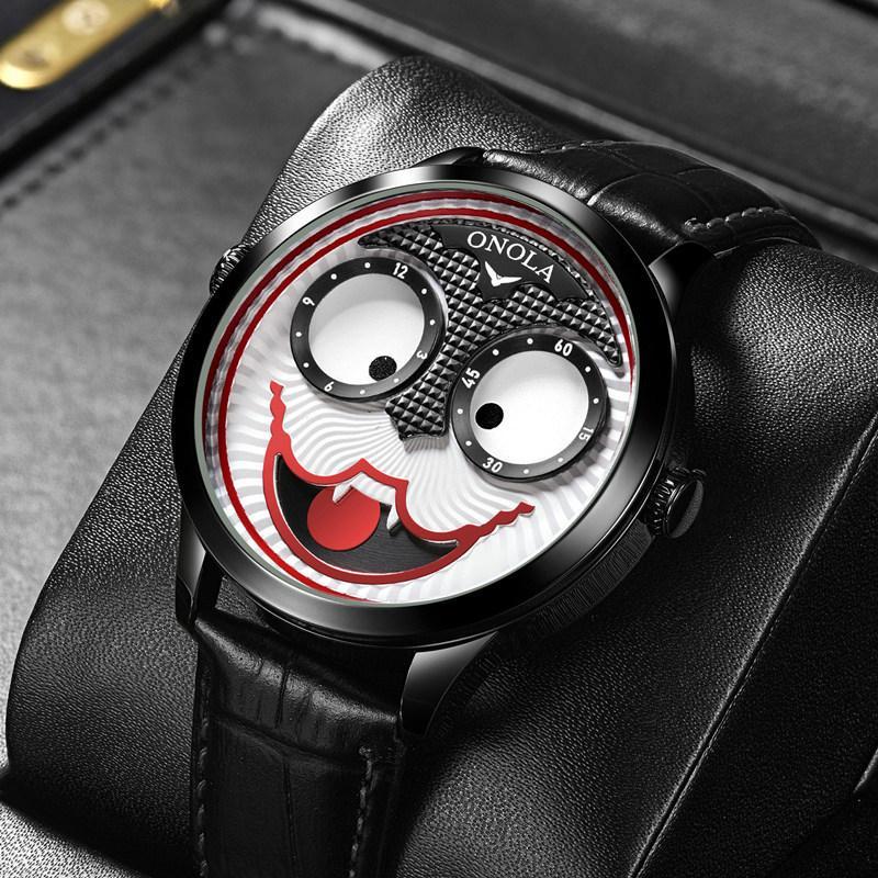Поло русский клоун онола мужские часы мужская трансграничная мода бренд кварцевые часы не механические часы внешняя торговля Популярная стиль Watchwritist