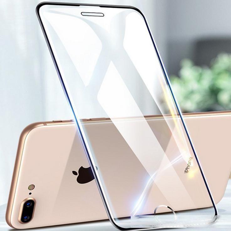Tam Tutkal Tam Kavisli Temperli Cam Ekran Koruyucu Tasarruf Iphone 11 Pro Max XR 8 7 6 Artı XS