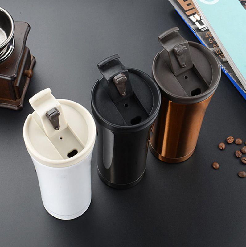 500 ml de la qualité chaude double mur en acier inoxydable des flacons de vide de voiture thermo tasse de thé THE THE THÈME THÈME THÈME THERMOCUP THERMOCUP LJ201218