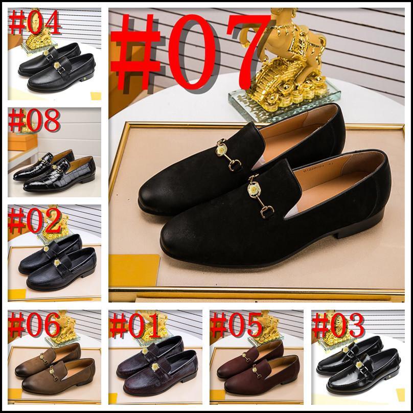 Mens véritable robe de cuir chaussures mode pointu per derby chaussure de luxe mariée mâle usure forfaite hommes oxford chaussure noir brun hommes