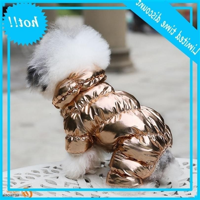 2020 Inverno imbottito Costumi in pile per gatto per animali domestici Cat Luxury Abbigliamento caldo Gilet Cucciolo Cucciolo Addensare Felpa con cappuccio Cappotto Giacca Cane Vestiti Bulldog Teddy