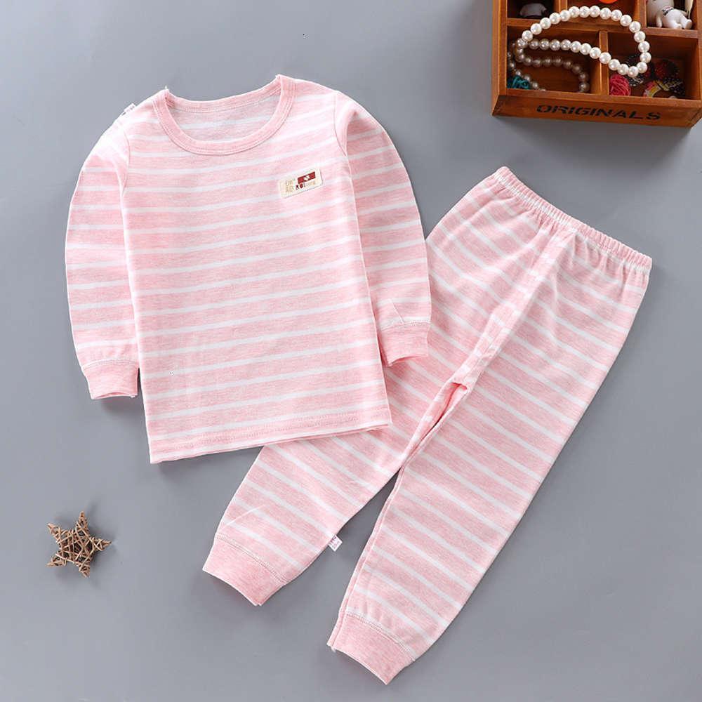 Pantalon 40 Tissu de coton coloré Automne Hommes et Pyjamas pour femmes Home Wear 80-170 Set de sous-vêtements pour enfants