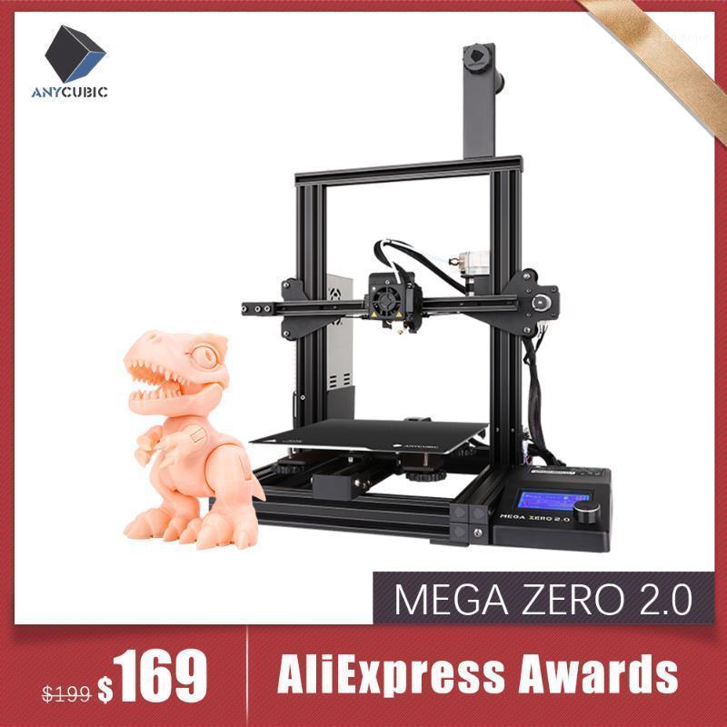 Stampanti Anycubic Stampante 3D Mega Zero 2.0 Impresora Kit fai da te Full Metal Large Stampa Dimensione di stampa Touch Screen LCD FILAMENTO SID Card Drucker1