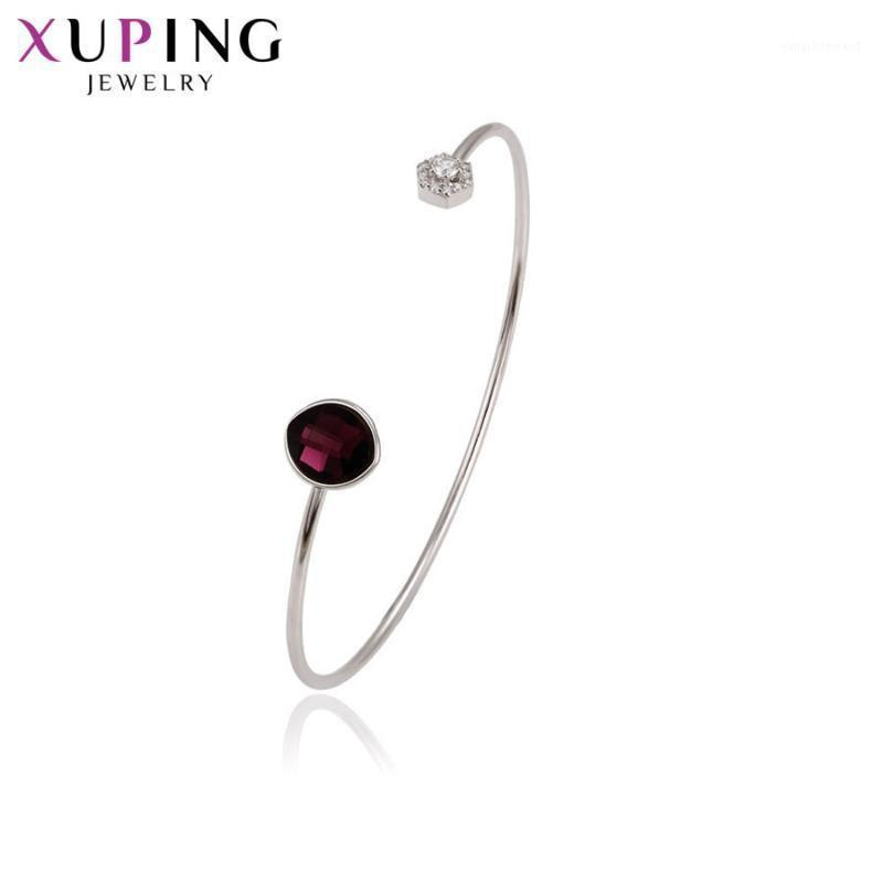 Xuping Classic Party Crystals from Newest Jewelry Bangle for Women Girl Valentine's Day Engagement Gift 516631