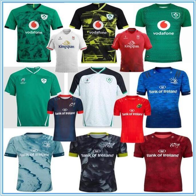 2019 2020 Irlanda Rugby Jerseys Irlandês Irfu Munster Cidade Rugby League Leinster Alternar Jersey 20 2021 Ulster Irishman Camiseta