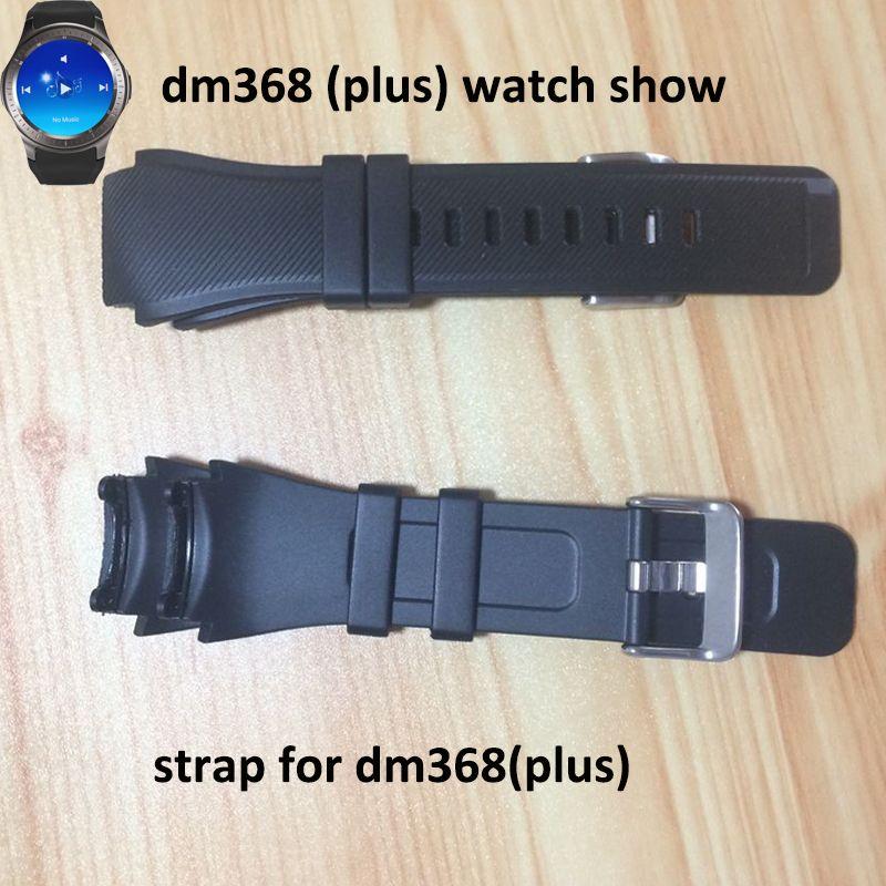 DM368 LF16 ساعة اليد smartwatch dm368 زائد الذكية ووتش الهاتف phonewatch استبدال المعصم حزام ووتش الفرقة الأحمر الأبيض حزام حزام watchband