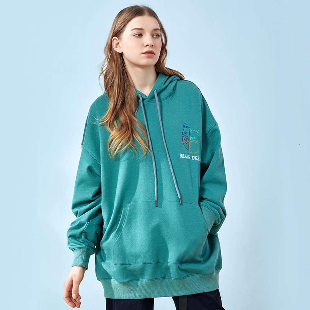 Maglione casual da donna con cappuccio con cappuccio Autumn Ins Amanti 2020 Nuova moda