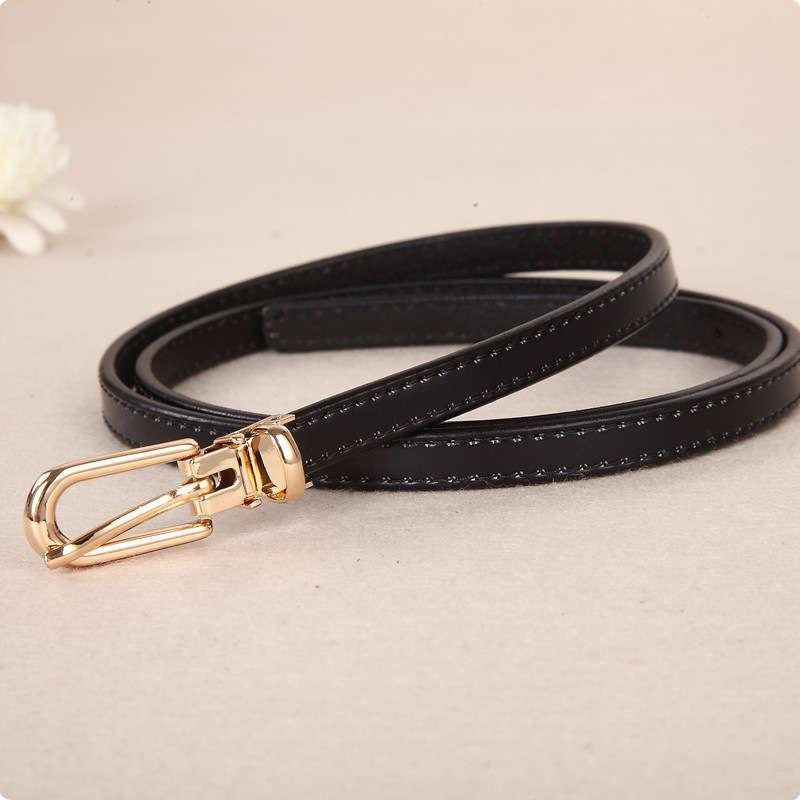 Bratisch hot selling new women's leather casual belt jeans with Korean version