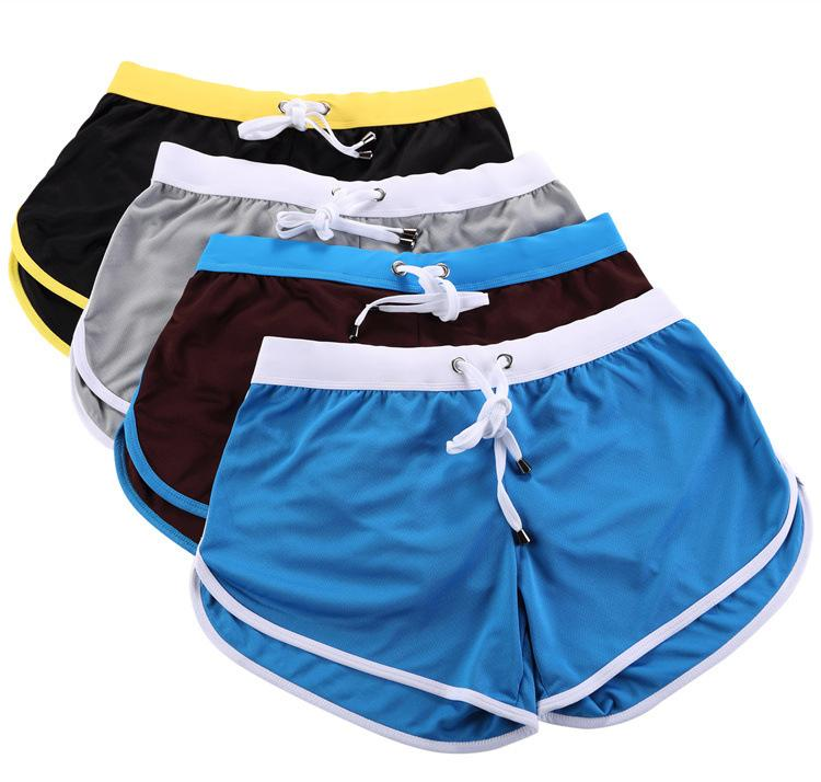 En iyi sıcak satış tatil sahil erkek s spor şort tatil eğlence kısa hızlı kurutma polyester