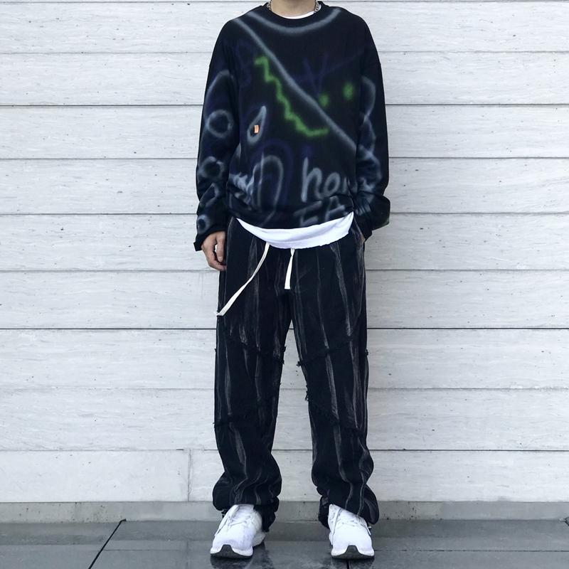 Pantalones para hombres 2021 Hombres Ropa Streetwear Pantalones Hombre Japonés Goth Pantalones Jaula