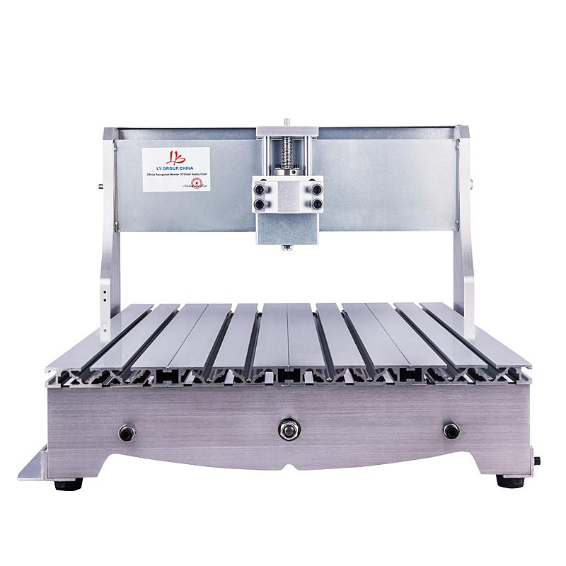 الكرة برغي مصغرة مخرطة السرير إطار cnc جهاز التوجيه 6040 سبائك الألومنيوم عدة