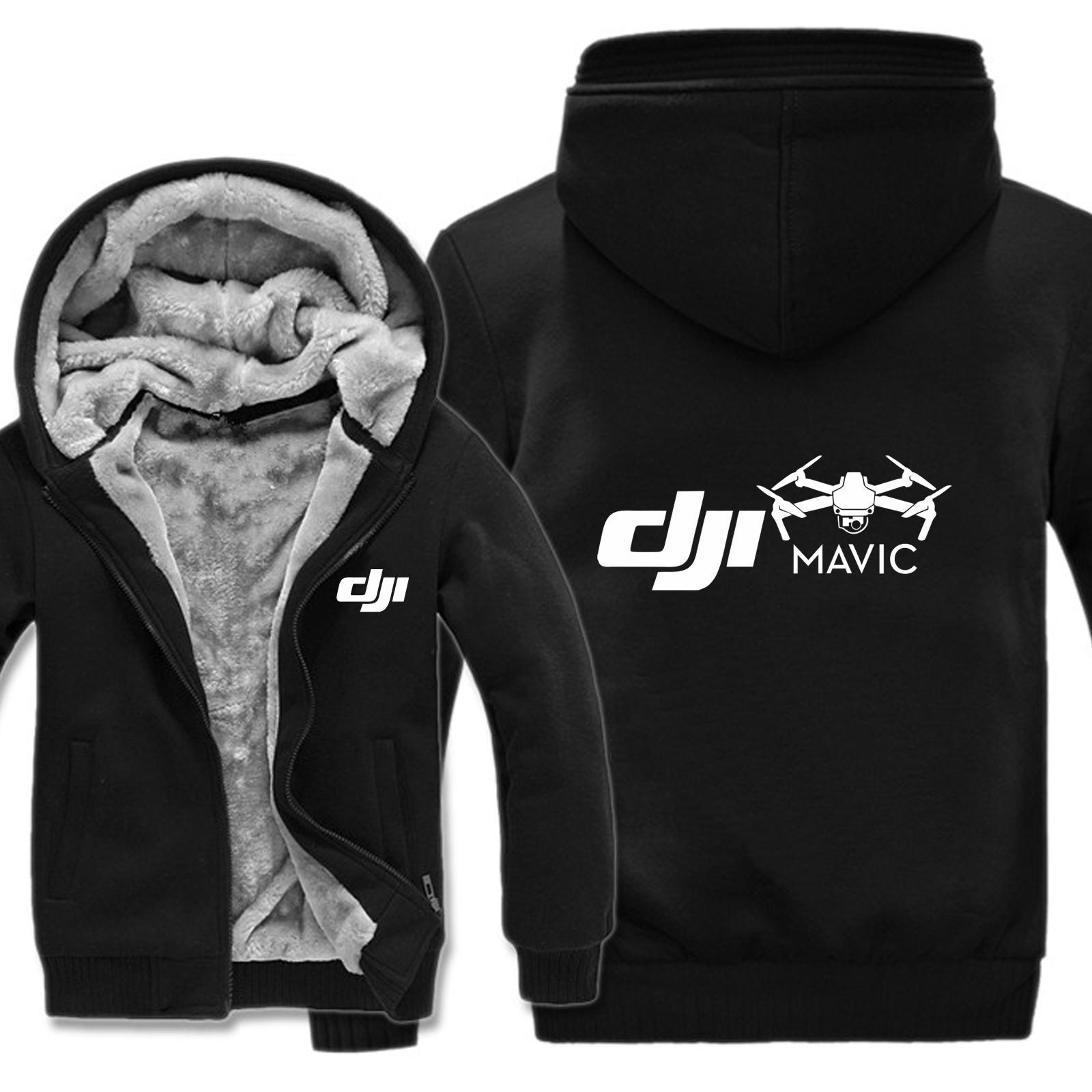 Mavic Pilot Hoodies Männer Verdicken Winterjacke Lustige Mann Kleidung DJI Sweatshirts Pullover