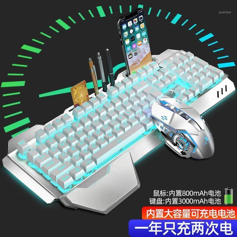 Tecnologia K680 Wrangler Recarregável Sem Fio Teclado e Mouse Set teclado e rato Kit1