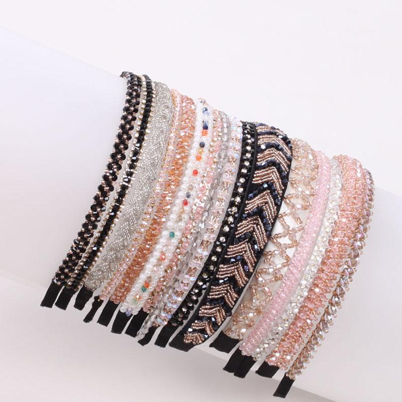 Moda Kristal Kızlar Kafa Bandı Prenses Kız Tasarımcı Kafa Saç Aksesuarları Çocuk Tasarımcı Bantlar Için Tasarımcı Saç Bantları B3654