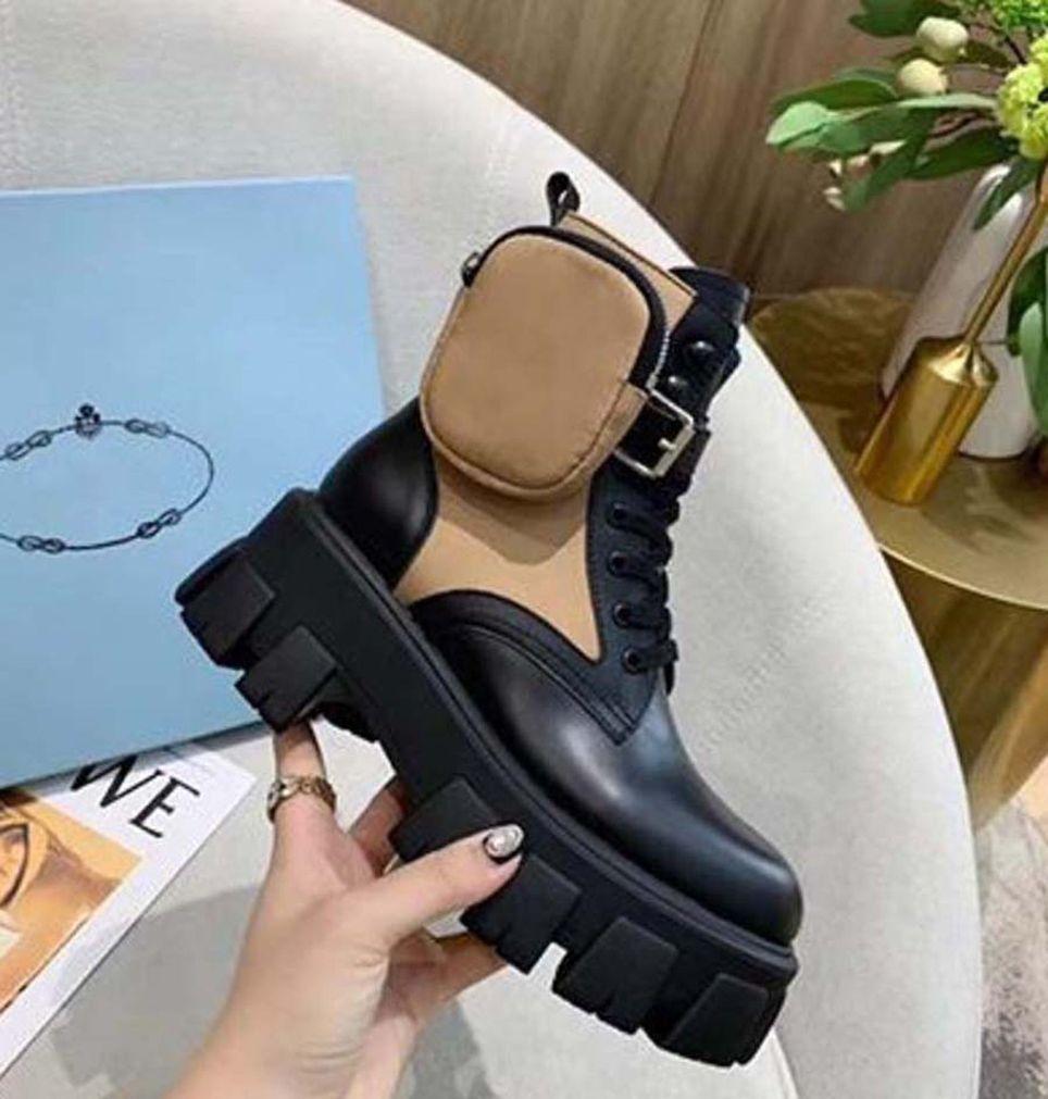 2021 Venda Bem Moda Mulheres Metade Botas de Couro Genuíno Botas de Neve Cartas Redonda Cabeça Médio Boot para Booties de Cowboy Home011 10