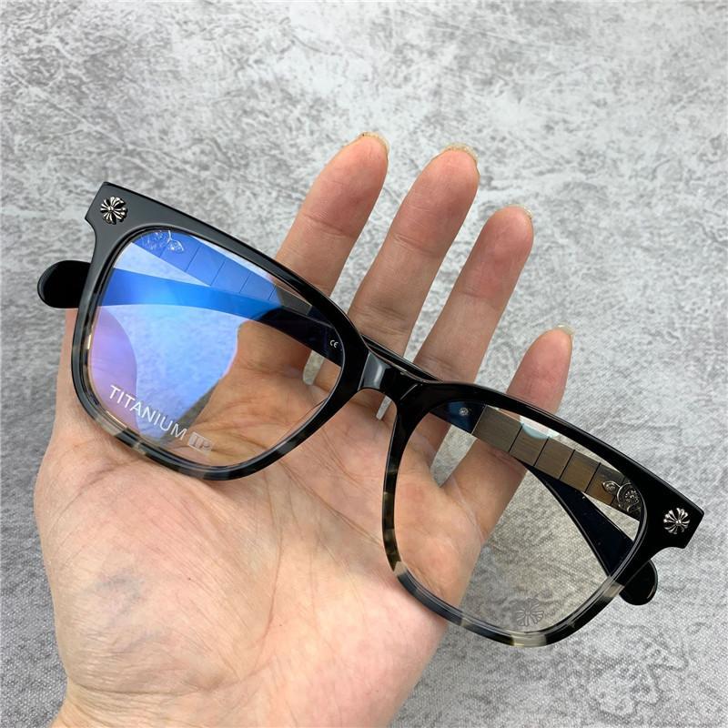 Marca dos homens óculos Frames Mulheres Retro Óptica Óculos Quadro Para Homens Moda Grande Quadro Espetáculo Quadros Miopia Eyewear com caso original