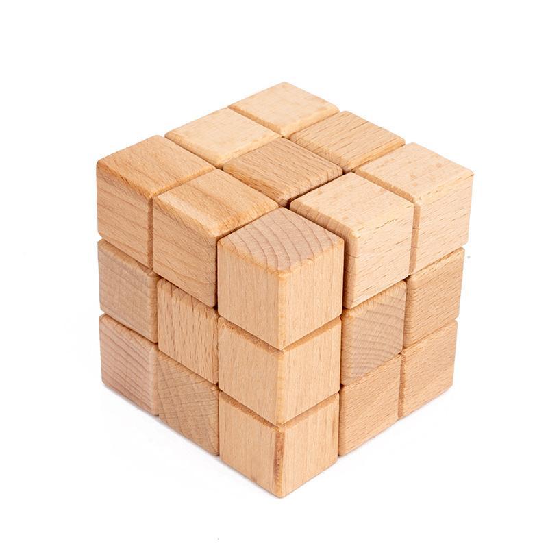 le développement de puzzle éducation précoce des enfants de blocs de construction de la pensée en bois pensée logique sciences créatives et jouets de l'éducation