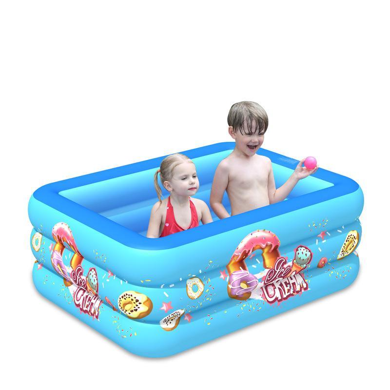 2020 Piscina gonfiabile per bambini Famiglia Super Large Big Ocean Ball Pool Assessuale Square Square Home Grande Piscina per bambini adulti