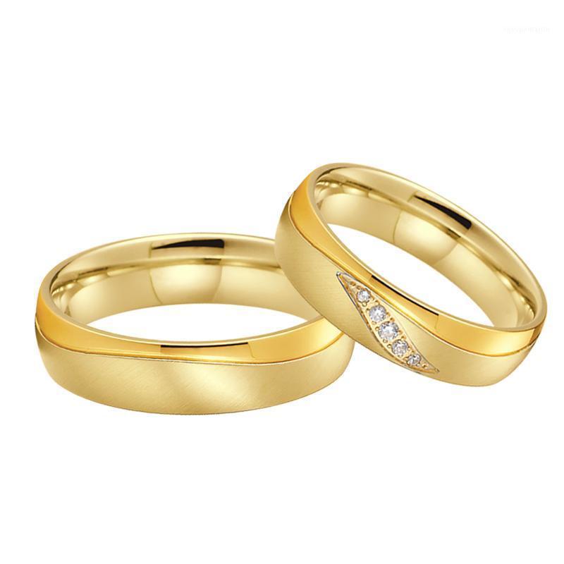 Подлинные ручной работы изысканные ювелирные изделия альянсы взаимодействие обручальные кольца пара из нержавеющей стали пальцем кольцо анель пакети марок Anillos1