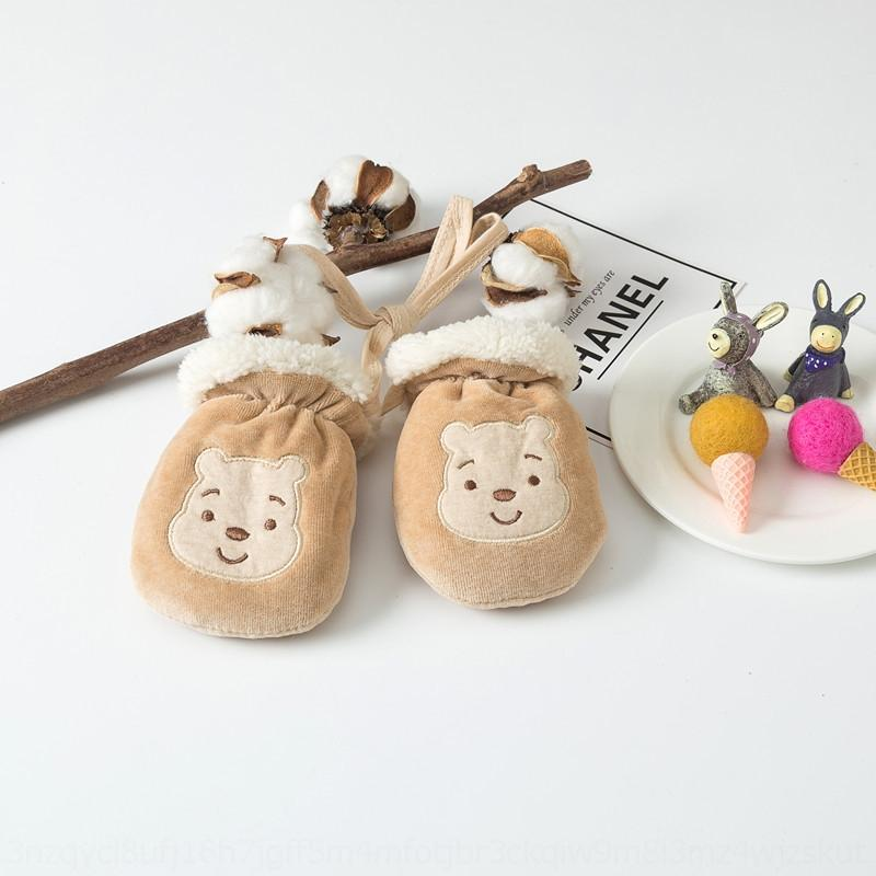 Insbk para crianças de 1-3 luvas e no inverno quente para crianças de 1-3 glooves quentes e luvas de inverno