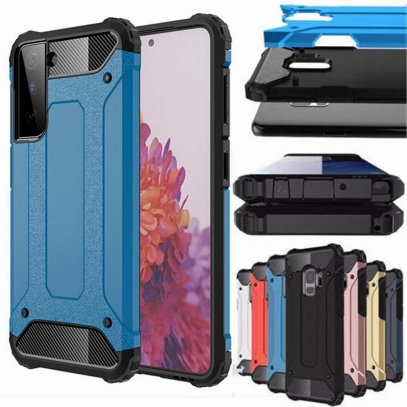 Heavy Duty Hybrid Armor Phone Cases For Samsung Galaxy S21 Plus Ultra A02S A12 A32 A52 Iphone 12 Pro Max Case King Kong
