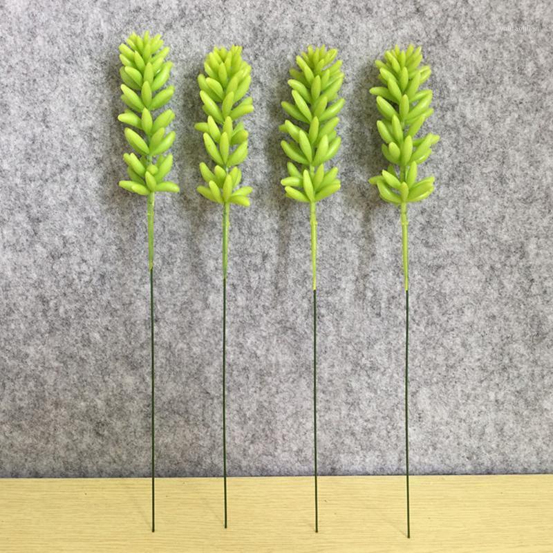 6pcs simulez plante plante simulée simulez la décoration de la décoration de la fleur1