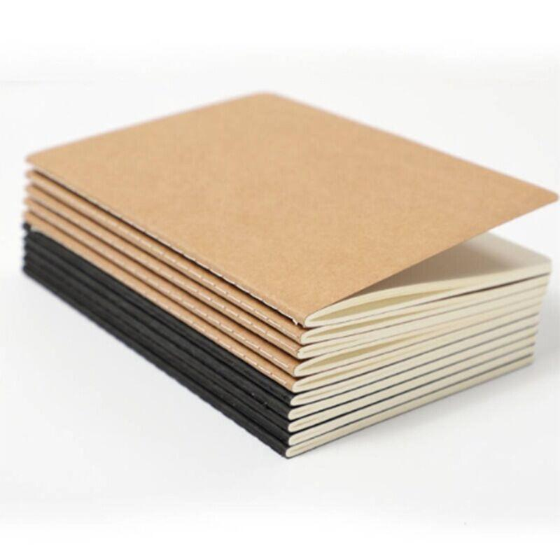 Notepads Kraft Paper Book Paper Notebook 16k Car Line Book A Large Vintage Cover Leather Book Keep A Journal Take Notes For Students