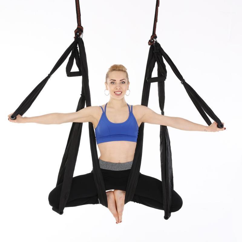 2in1 Yoga Hängematte + Hängematte im Freien, Familien-Yoga-Übungswerkzeuge, invertierte Fitness Hängematte1