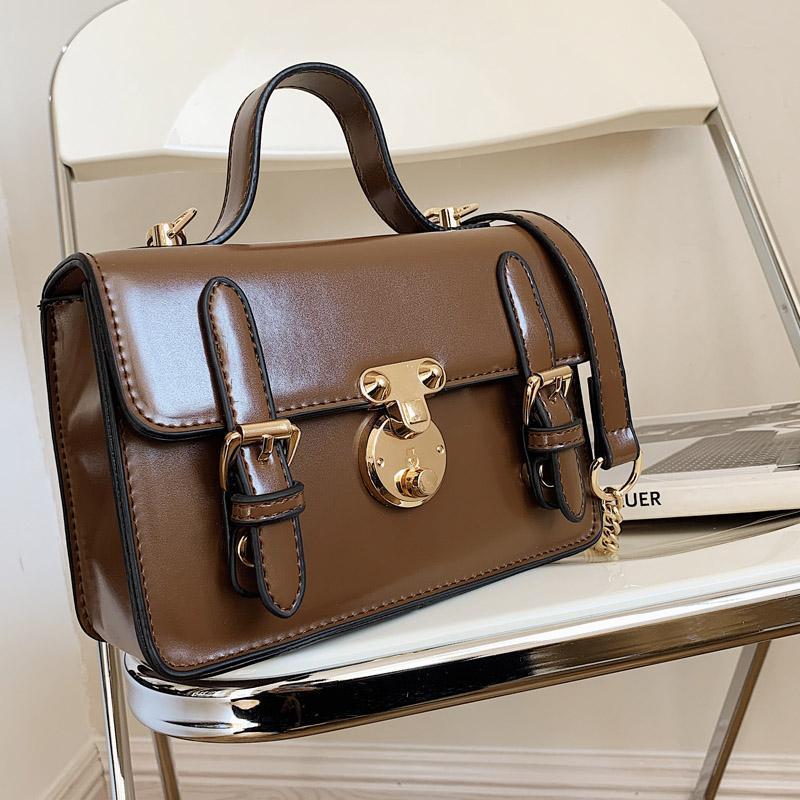 Vintage tendência bolsa de ombro desenhador flap bolsa de bolsa de ombro bolsas de ombro luxo bolsas para mulheres 2021 pu couro