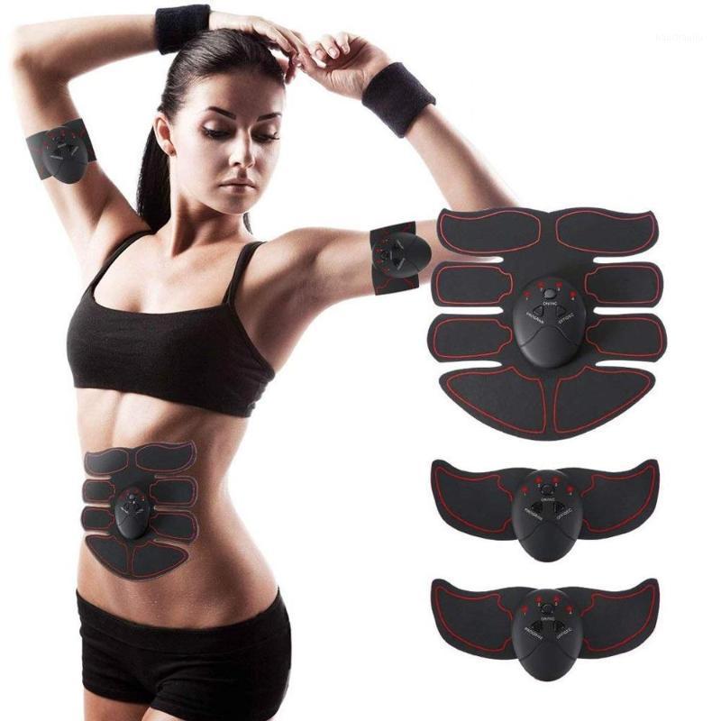 Abdominal Muscle Trainer Training Apparatus EMS Muscle Stimulator Belt Fitness Massager Body Slimming Shaper Machine Fat1