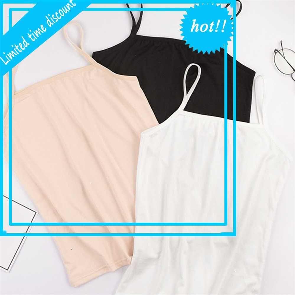 Дыхание слинг ультразвуковые бак топы повседневные эффекты цвета спагетти шаг мягкая короткая рубашка жилет для женщин новый