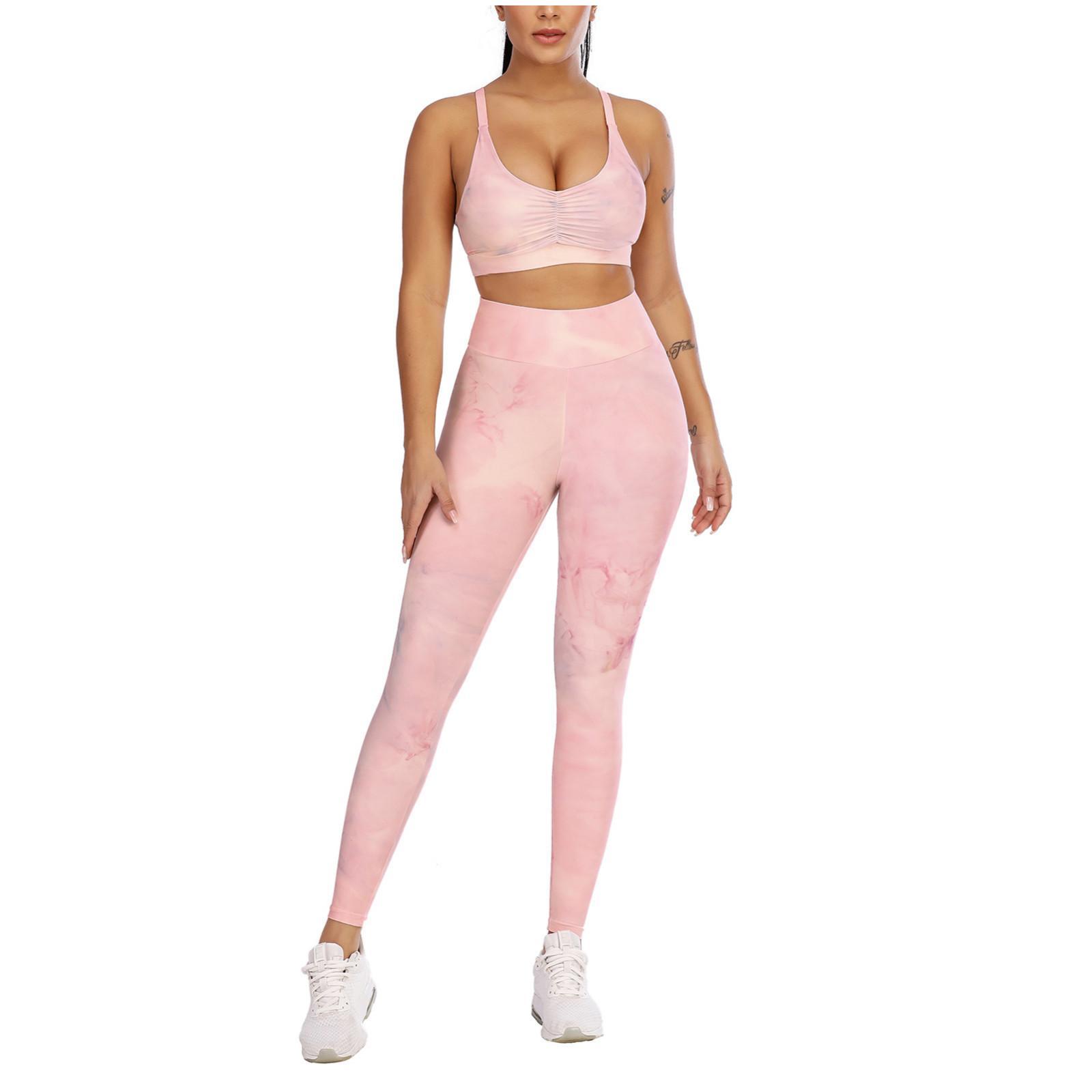 Yoga pantolon benzersiz pisti popo tozluk kadın patchwork baskı yüksek bel streç strethcy spor tozluk yoga pantolon seti #z x1227
