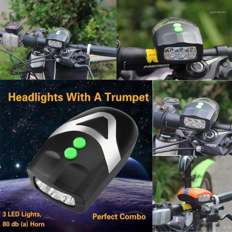 Ciclismo 3LED Bicycle Bike Light with Horn By Bill faro Cycling Esercizio Accessori da equitazione Bicycle Light1