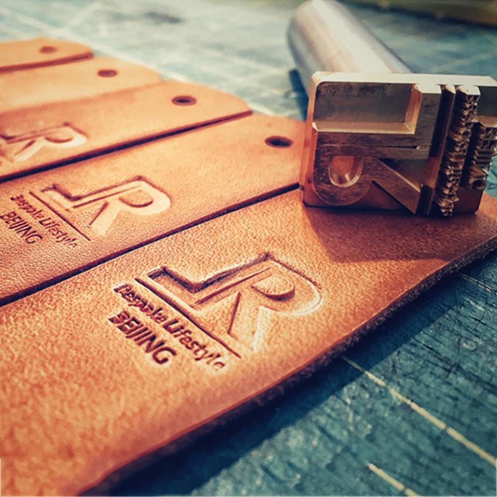 3 / 4/5/6/7/8/9 / 10 cm personalizado logotipo de couro carimbo de couro quente branding ferro stampin up selos e morre DIY presente personalizado carimbo molde